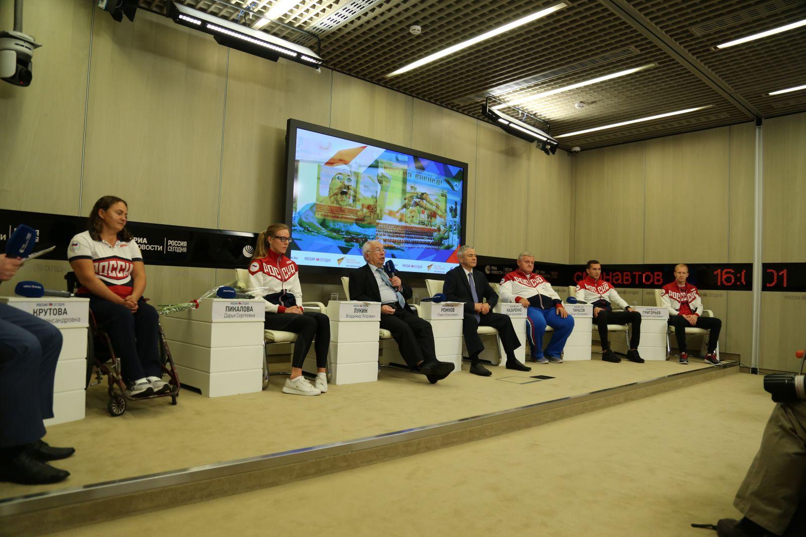 ПКР в ММПЦ «Россия сегодня» провел пресс-конференцию, посвященную 1 году до начала XVI Паралимпийских летних игр 2020 года в г. Токио (Япония)