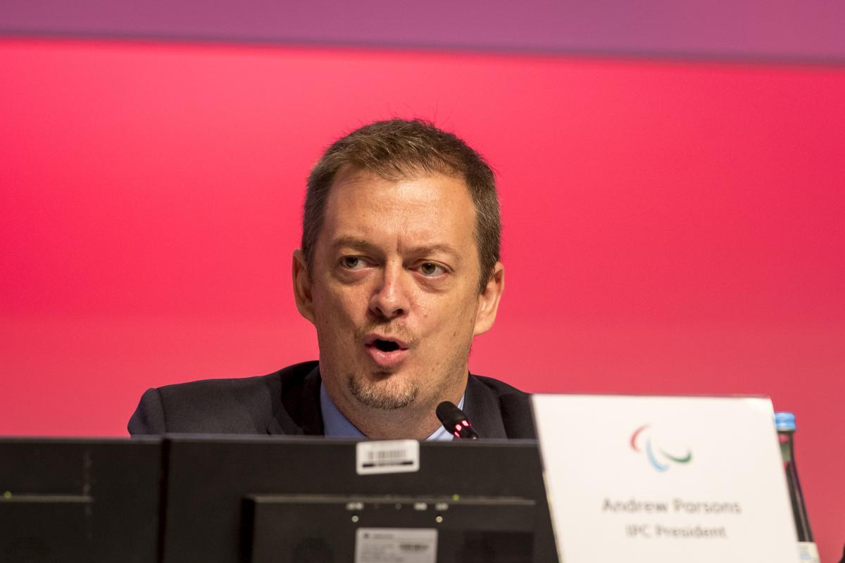 Заявление Президента МПК Э. Парсонса о переносе Паралимпийских игр на 2021 год