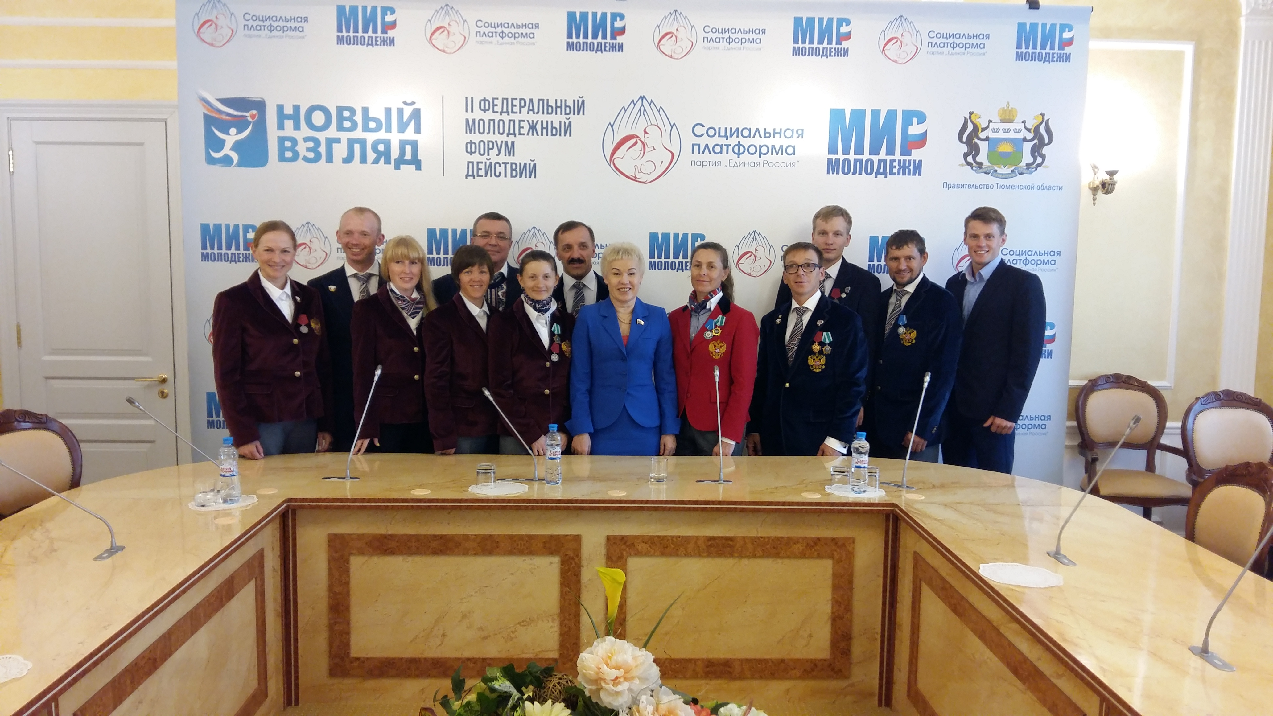 Р.А. Баталова в г. Тюмени провела встречу со спортсменами-паралимпийцами Тюменской области