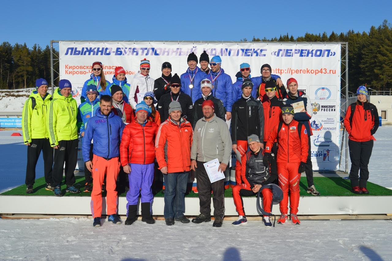 В Кировской области определены победители чемпионата и первенства России по лыжным гонкам и биатлону спорта слепых