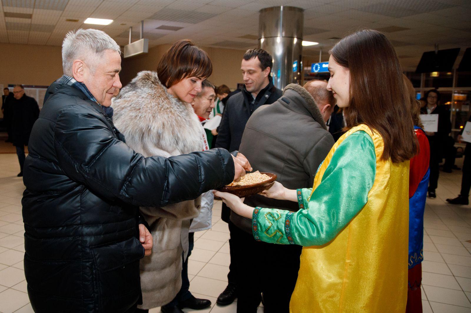 П.А. Рожков и члены Исполкома ПКР прибыли в г. Ханты-Мансийск для проведения V Всероссийского форума по развитию Паралимпийского движения в Российской Федерации