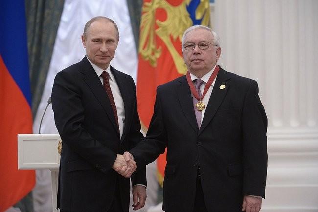 Президент Российской Федерации В.В. Путин поздравил президента ПКР В.П. Лукина с Юбилеем