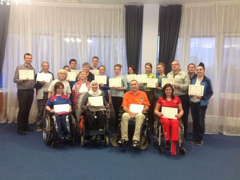 ПКР совместно с Всероссийской федерацией спорта лиц с ПОДА в Тульской области провели семинар по подготовке национальных классификаторов по бочча