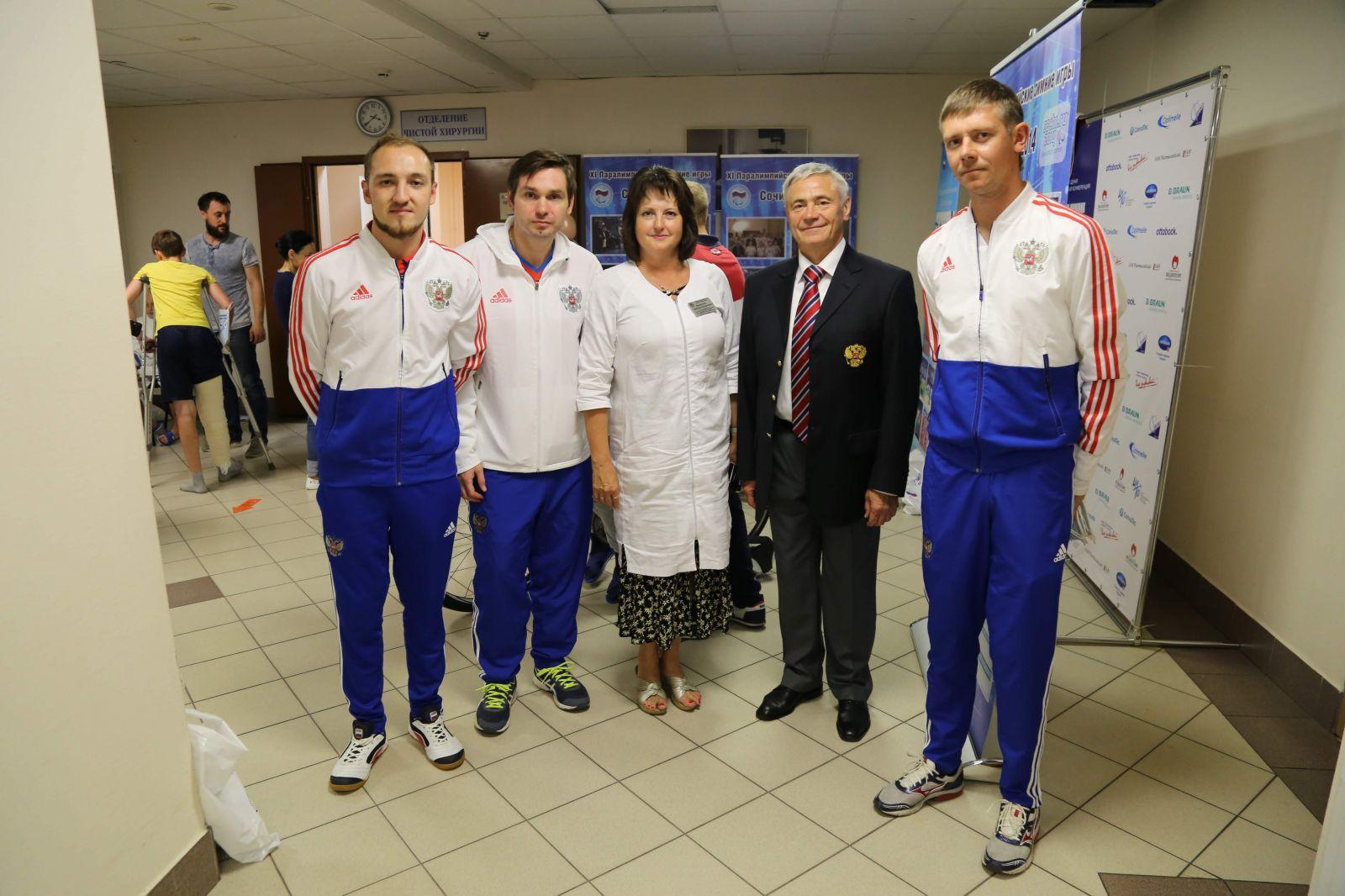 ПКР провел Паралимпийский урок для детей-пациентов НИИ неотложной детской хирургии и травматологии