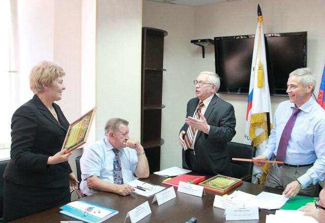 Состоялось заседание Исполкома ПКР под руководством президента ПКР В.П.  Лукина