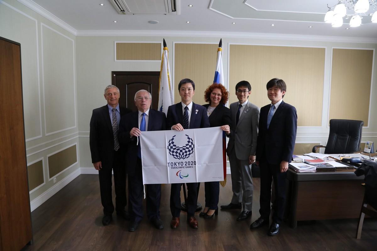В.П. Лукин, П.А. Рожков в офисе ПКР встретились с делегацией представителей Кабинета министров Японии, отвечающих за подготовку Олимпийских и Паралимпийских игр 2020