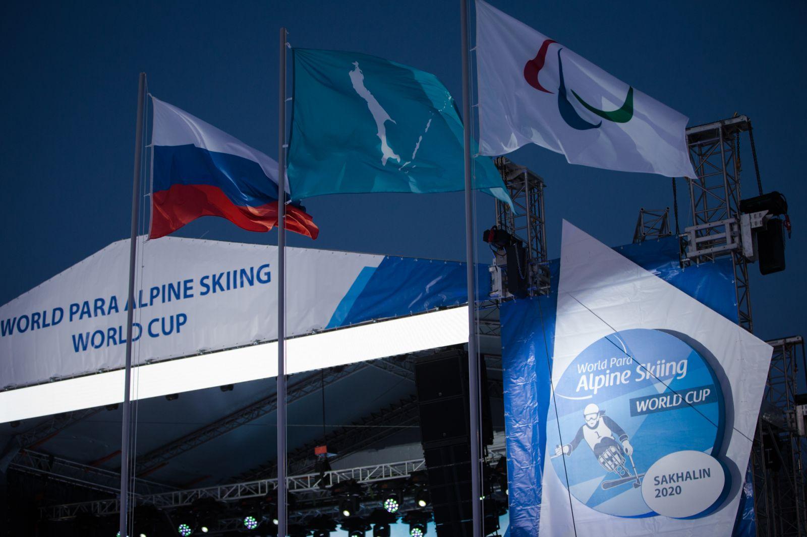 П.А. Рожков, А.А. Строкин посредством видео-конференц-связи провели переговоры с МПК по вопросу проведения Кубка мира по паралимпийскому горнолыжному спорту в Южно-Сахалинске