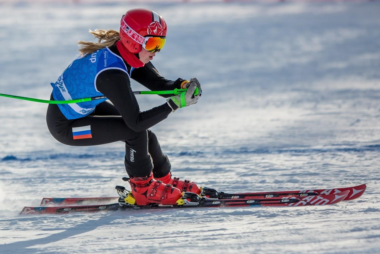Золотую и серебряную медали завоевала сборная России в гигантском слаломе на Кубке Европы по горнолыжному спорту МПК в Швейцарии