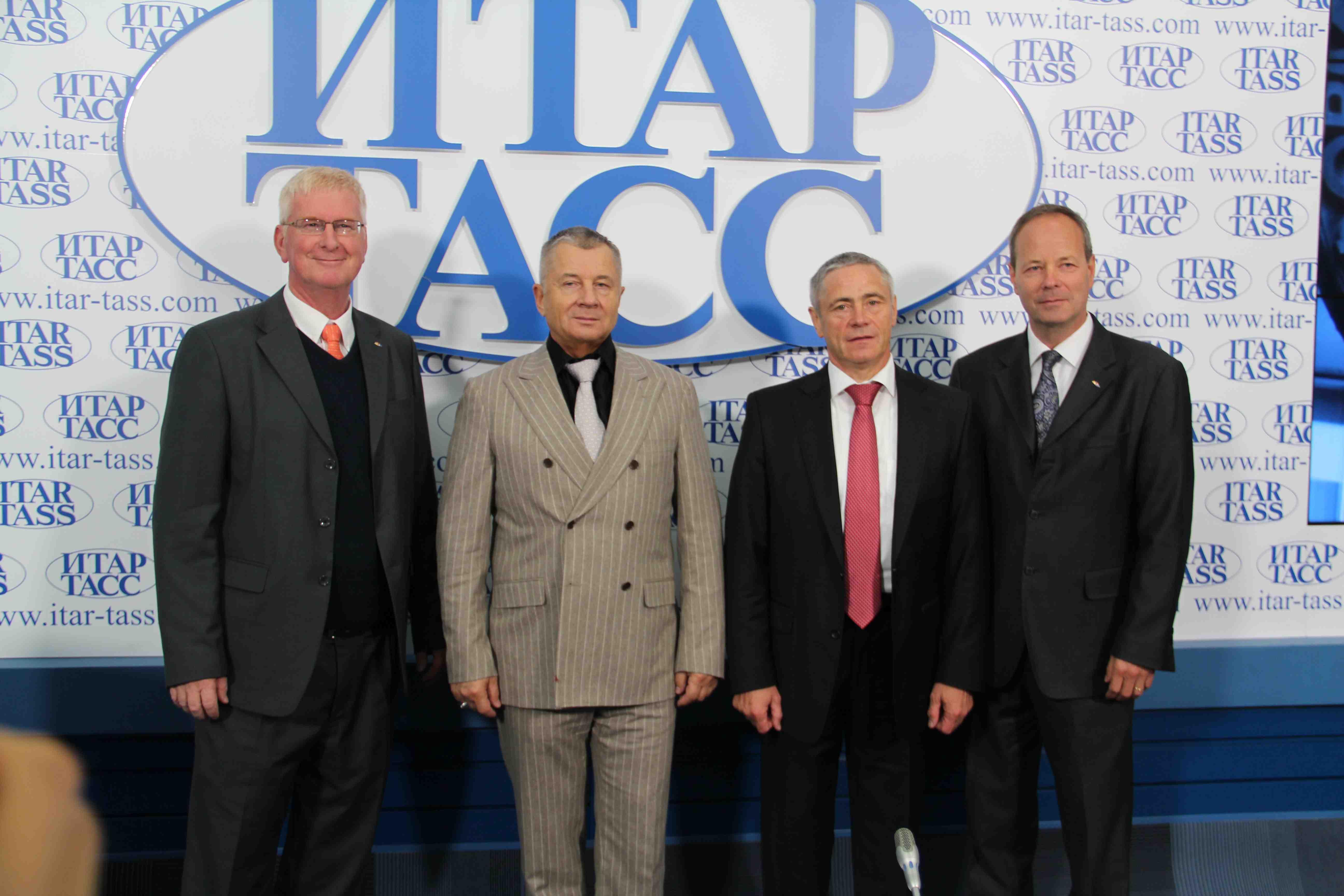 П.А. Рожков в пресс-центре ИТАР-ТАСС принял участие в пресс-конференции, посвященной проведению в г. Москве 5 чемпионата мира по пара-тхэквондо