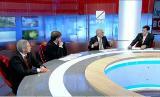 "В. П. Лукин, П. А. Рожков, О. Н. Смолин (посредством видеоконференцсвязи)  приняли участие в программе на телеканале ""РБК -ТВ"" ""Паралимпиада-2014: время перемен?"", посвяще"