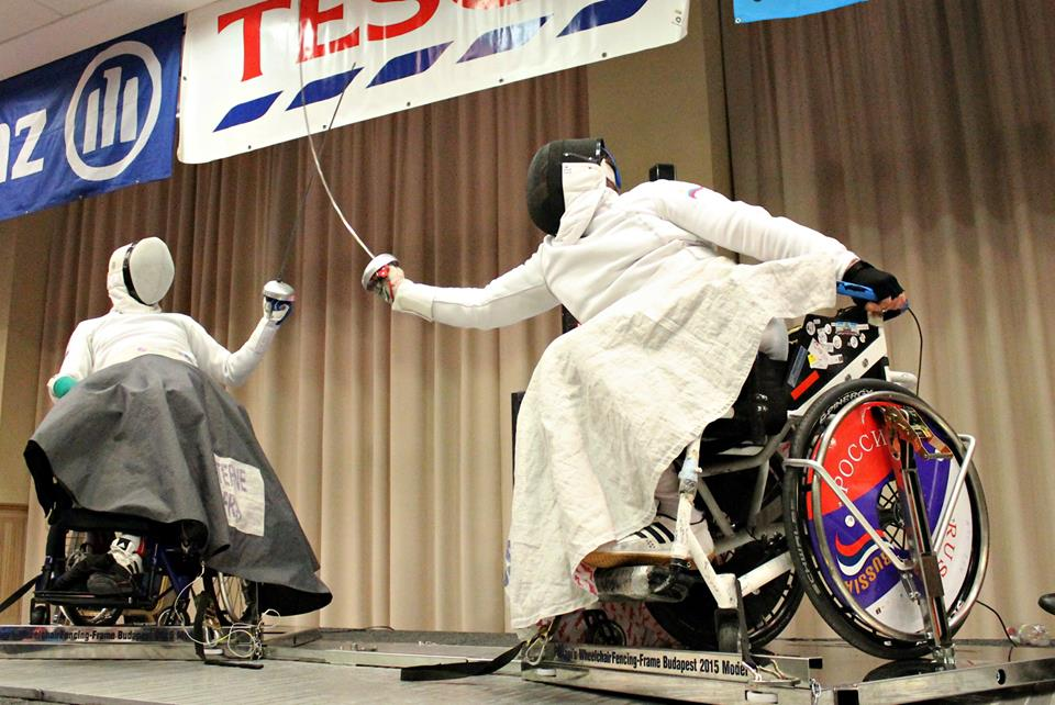 Сборная команда России по фехтованию на колясках в Канаде поборется за награды Кубка мира