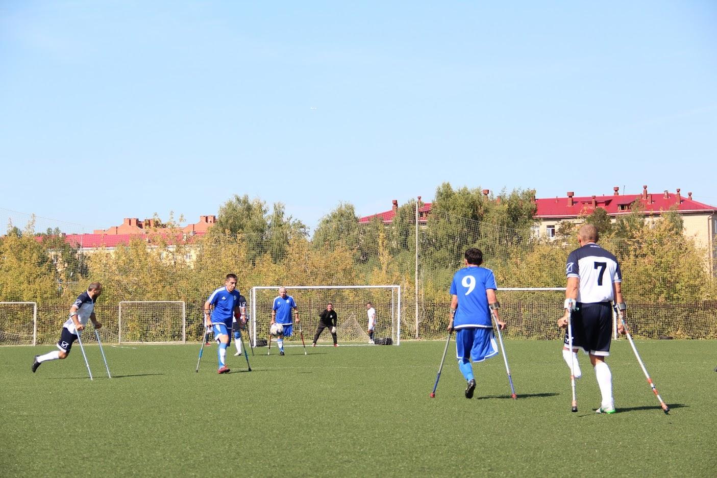 5 команд поведут борьбу за медали чемпионата России по футболу ампутантов в Нижнем Новгороде
