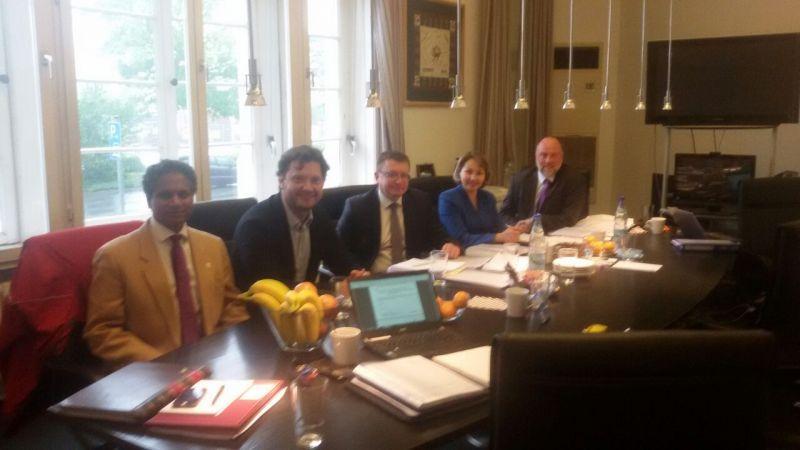 В штаб-квартире МПК в г. Бонн (Германия) состоялась встреча членов Координационного комитета ПКР с Рабочей группой МПК по вопросам восстановления членства ПКР в МПК