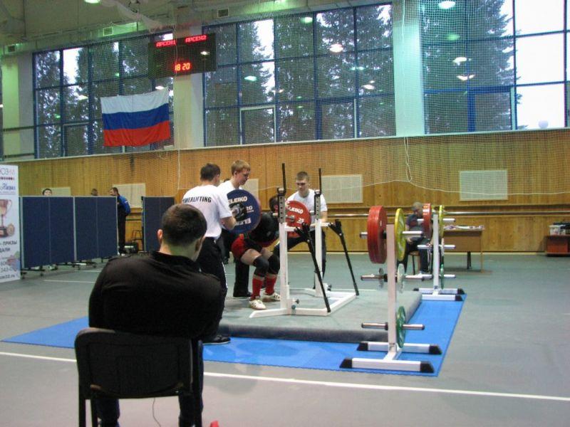 Определены победители чемпионата и первенства России по пауэрлифтингу спорта слепых