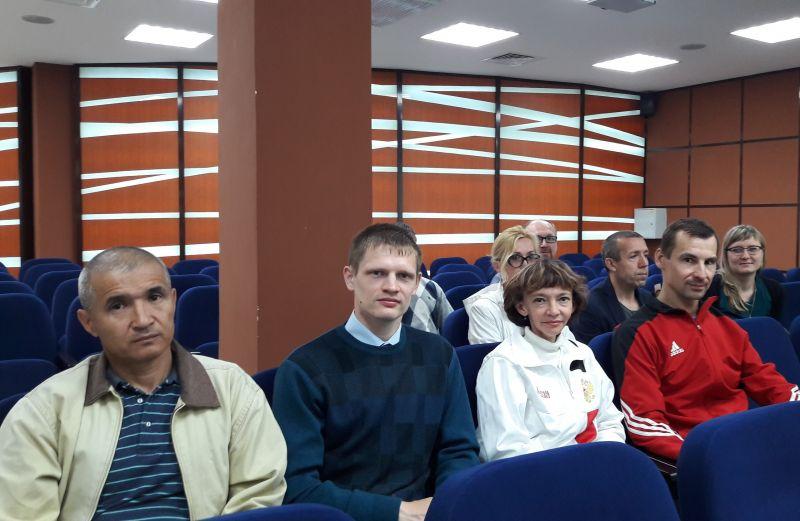 В г. Саранске (Республика Мордовия) спортсмены-паралимпийцы региона приняли участие в антидопинговом семинаре
