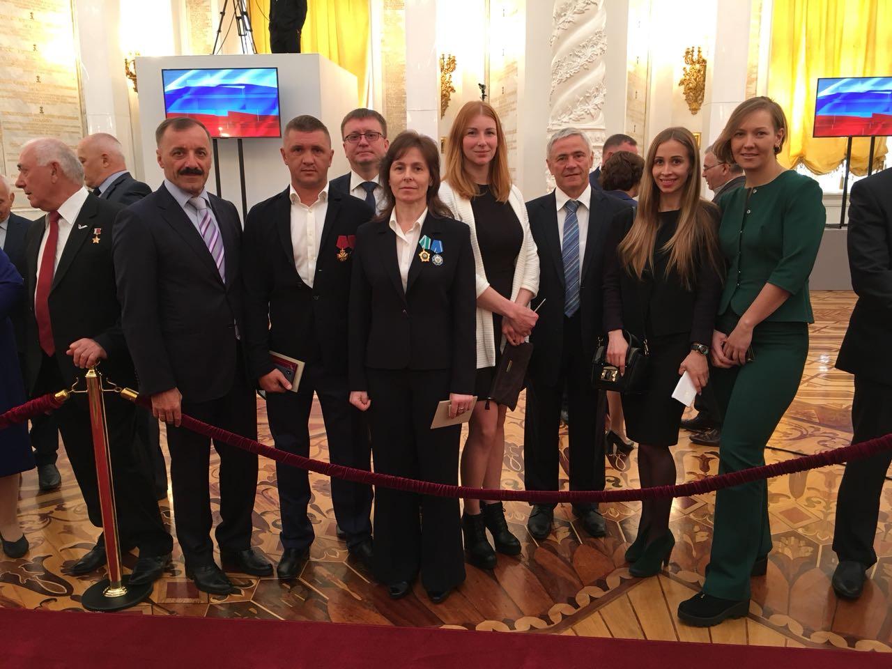 Руководители ПКР, многократные чемпионы Паралимпийских игр в Кремле приняли участие в инаугурации Президента РФ В.В. Путина