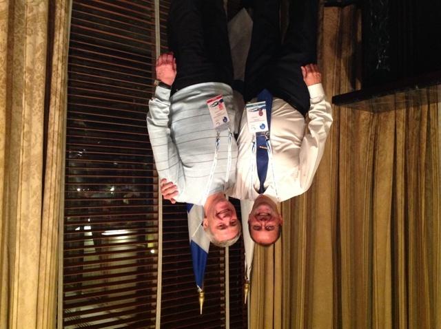 П. А. Рожков в г. Афинах (Греция) в рамках участия в Конференции Международного паралимпийского комитета (МПК)  встретился с исполнительным директором МПК  Хавьером Гонсалесом