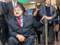 В г. Сочи прибыл президент Международной спортивной федерации колясочников и ампутантов IWAS Пол де Пас для организации проведения Всемирных игр IWAS