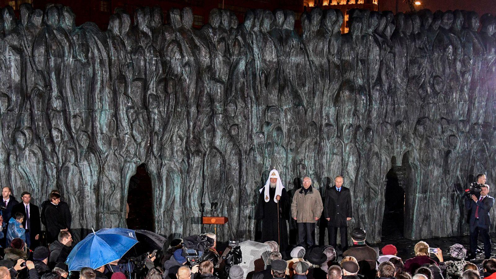 В.П. Лукин принял участие в церемонии открытия мемориала памяти жертв политических репрессий «Стена скорби» в Москве