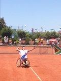 В  г. Зеленограде (г. Москва) завершились международные соревнования по теннису на колясках