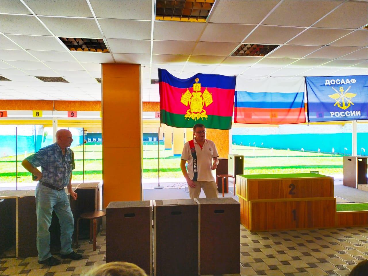 А.А. Строкин в г. Краснодаре принял участие в просмотре Кубка и первенства России по пулевой стрельбе спорта лиц с ПОДА, а также провел встречу с участниками соревнований