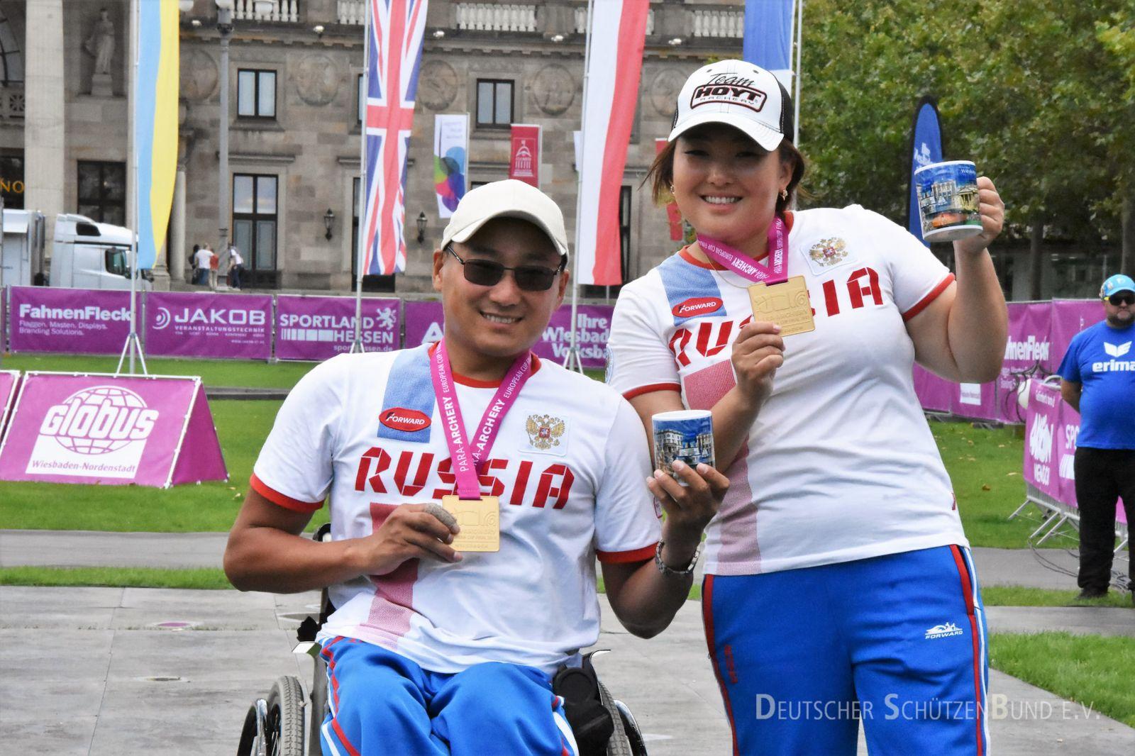 Сборная команда России завоевала первое общекомандное место на финале Кубка Европы по стрельбе из лука спорта лиц с ПОДА в Германии