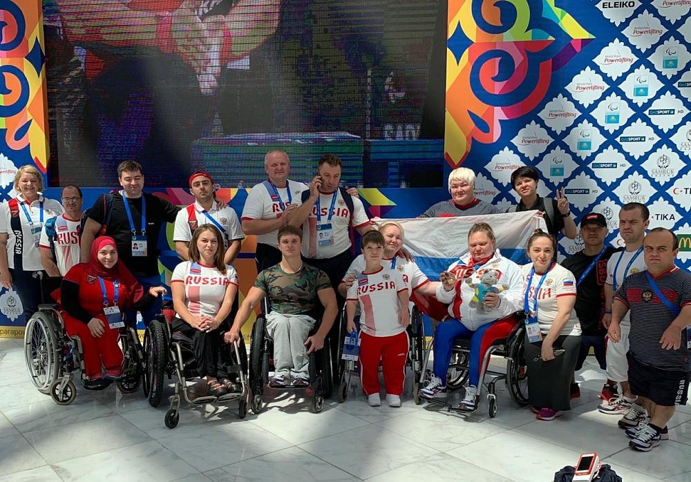 2 золотые и 2 бронзовые медали завоевали российские спортсмены на чемпионате мира по пауэрлифтингу спорта лиц с ПОДА в Казахстане