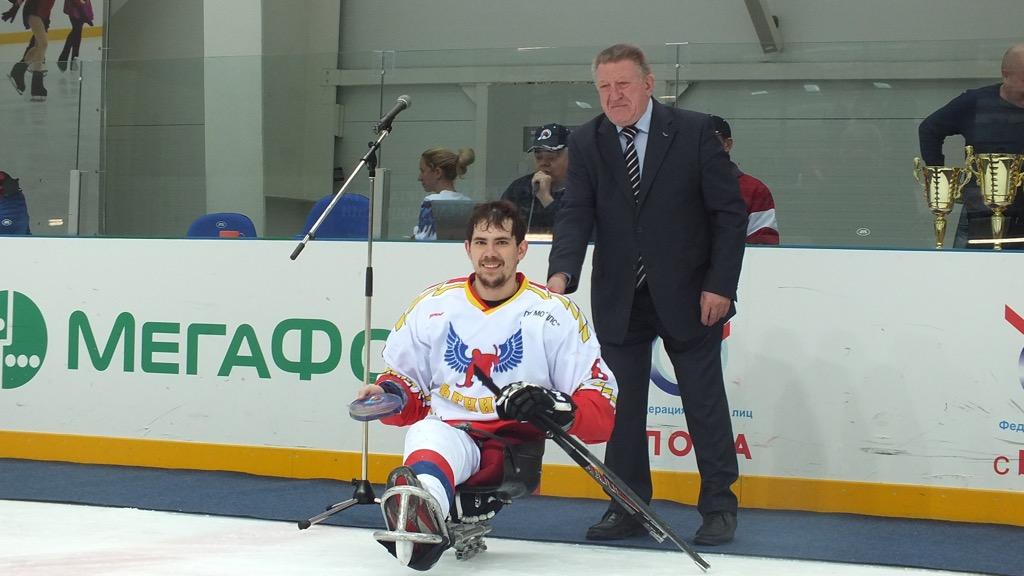 Л.Н. Селезнев в г. Сочи принял учатие в церемонии награждения победителей и призеров чемпионата России по хоккею-следж