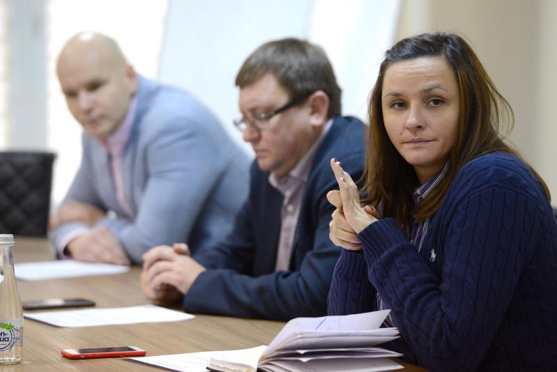 А.А. Строкин в офисе ОКР принял участие в заседании комиссии спортсменов Олимпийского комитета России под руководством С.А. Великой