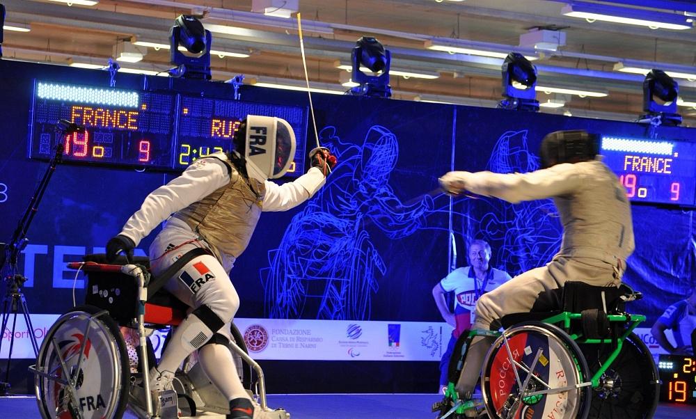 Сборная команда России по фехтованию на колясках примет участие в этапе Кубка мира в Италии