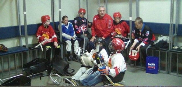 """На РУТБ """"ОКА"""" (г. Алексин, Тульская область)  создана первая юношеская команда по хоккею-следж"""