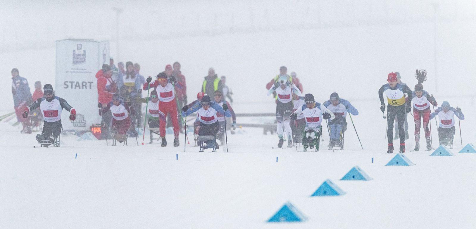 Сборная команда России примет участие в этапе Кубка мира по лыжным гонкам и биатлону МПК в Германии