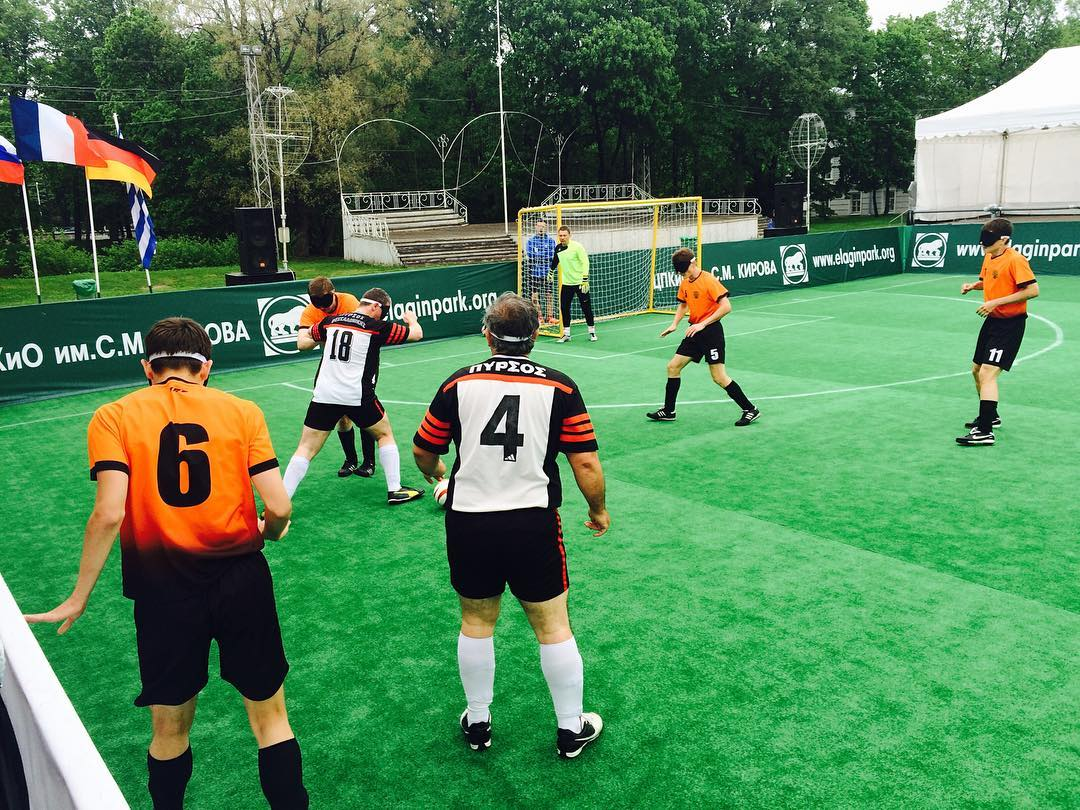Сборная России по футболу 5х5 спорта слепых завоевала бронзовые медали на престижном турнире в Санкт-Петербурге