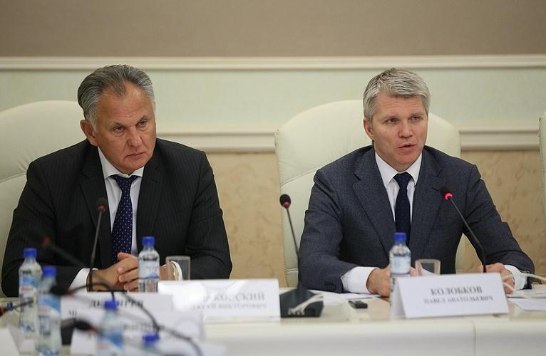 П.А. Рожков в Минспорте России принял участие в заседании Коллегии Министерства спорта Российской Федерации