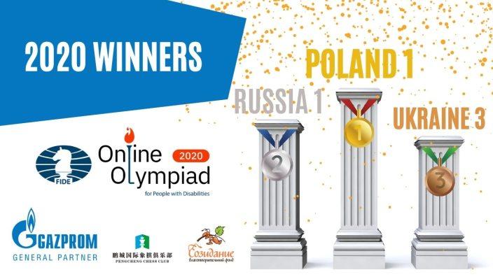Сборная команда России по шахматам завоевала серебряные медали на онлайн-Олимпиаде FIDE среди лиц с ОВЗ
