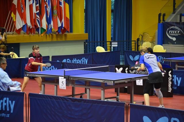 В Италии проходит чемпионат Европы по  настольному теннису спорта лиц с поражением опорно-двигательного аппарата и  интеллектуальными нарушениями