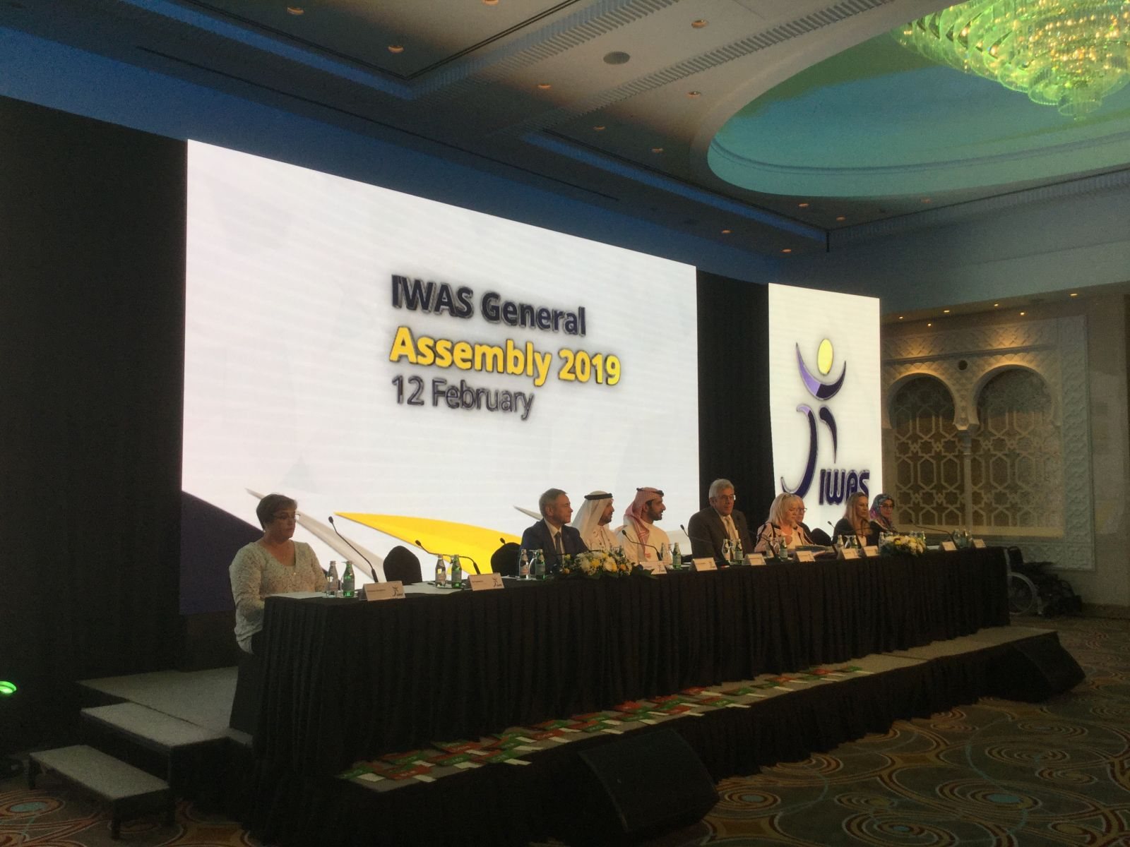 П.А. Рожков в г. Шарджа (ОАЭ) принял участие в Генеральной Ассамблее Международной спортивной федерации колясочников и ампутантов (IWAS)