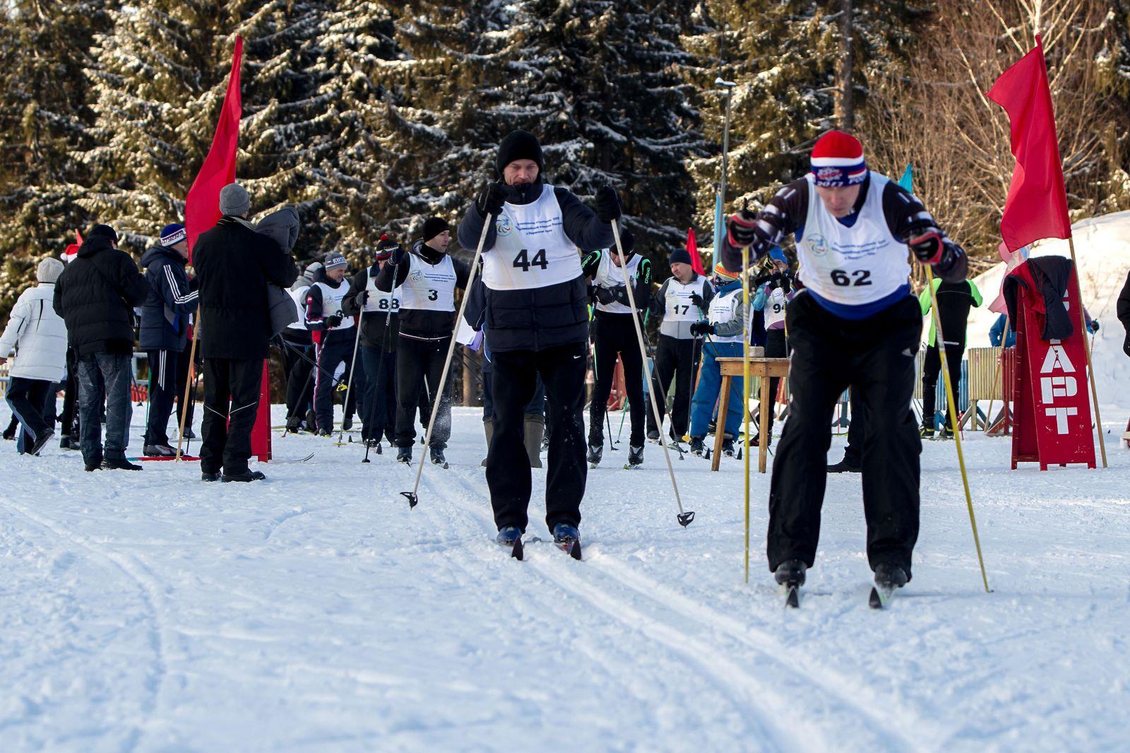 В Перми в рамках VII Краевого Паралимпийского спортивного фестиваля прошли соревнования по бильярдному спорту и лыжным гонкам