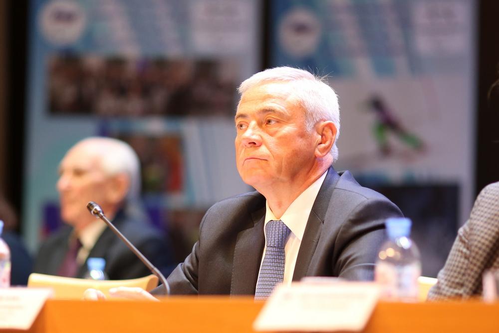 П.А. Рожков избран на должность председателя Исполкома, первого вице-президента Паралимпийского комитета России