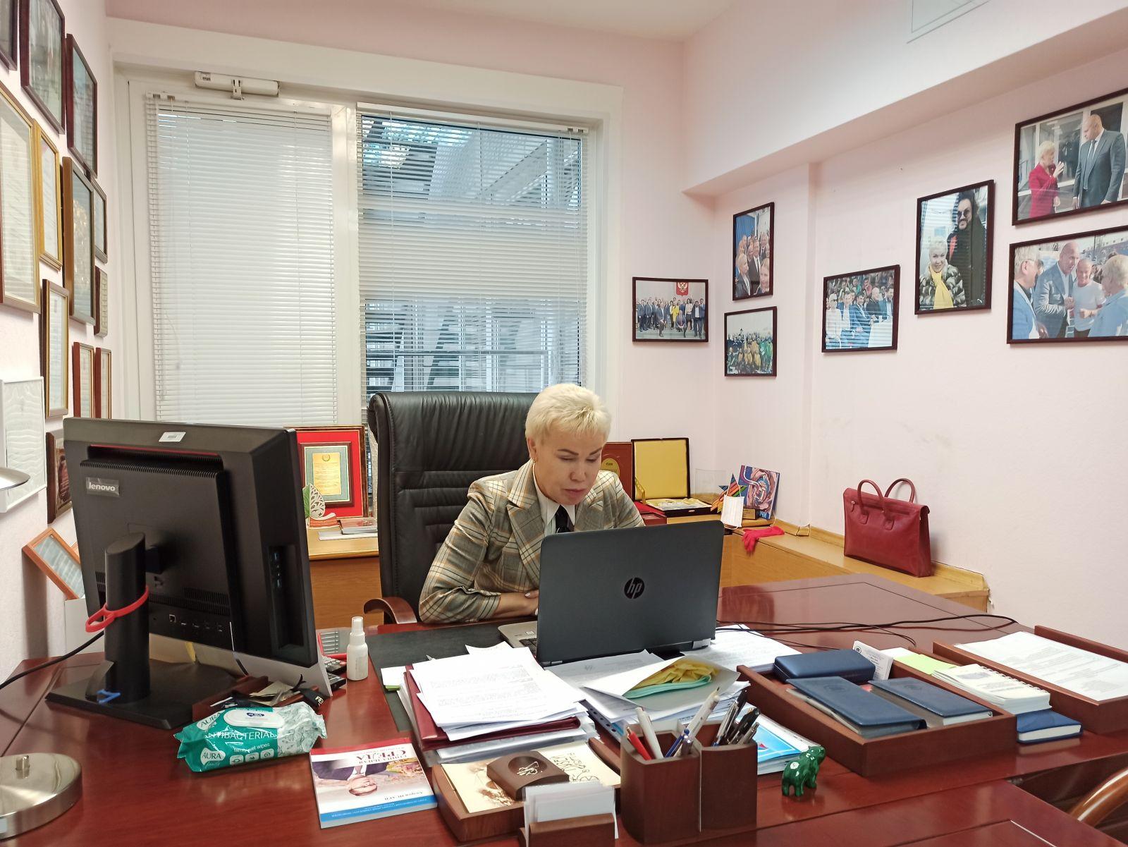 Р.А. Баталова приняла участие в двухдневном семинаре для судей и тренеров по настольному теннису спорта слепых