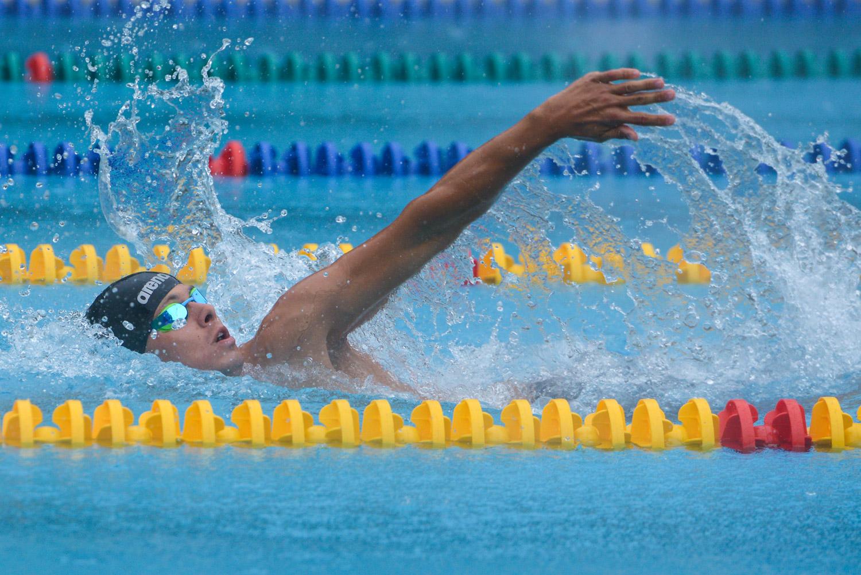 Сборная России по плаванию в пятницу завоевала 12 золотых, 11 серебряных и 12 бронзовых медалей, победив в командном зачете на Всемирных играх IWAS-2015 в Сочи