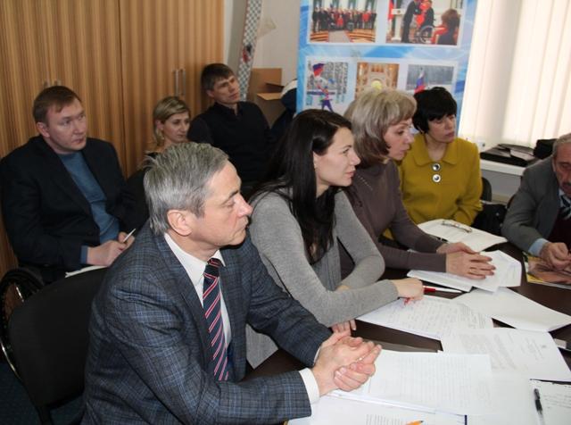 29 февраля   состоялось   расширенное заседание  тренерского Совета Федерации спорта лиц с поражением опорно-двигательного аппарата