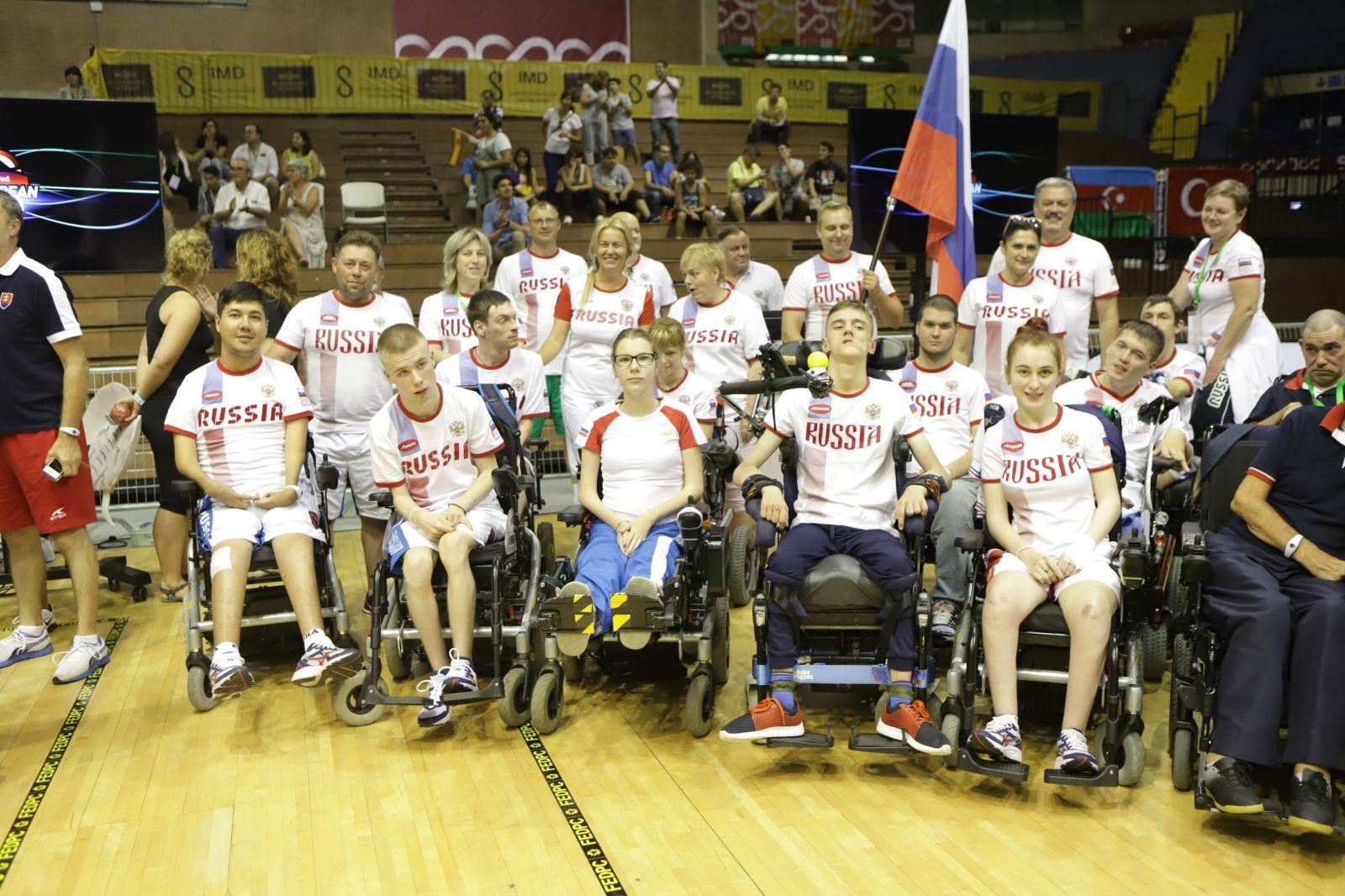 Серебряную и бронзовую медали завоевали российские боччисты по итогу личных соревнований чемпионата Европы в Испании