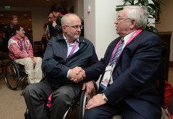 В г. Москве состоялась рабочая встреча президента Международного паралимпийского комитета сэра Филипа Крэйвена и В.П. Лукина