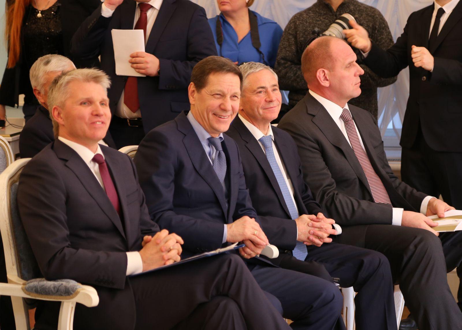 П.А. Рожков в Минспорте России принял участие в торжественной церемонии награждения лауреатов национальных номинаций в области физической культуры и спорта за 2017 год
