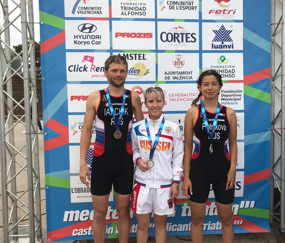 2 серебряные и 2 бронзовые медали завоевали российские паратриатлонисты на чемпионате Европы в Испании