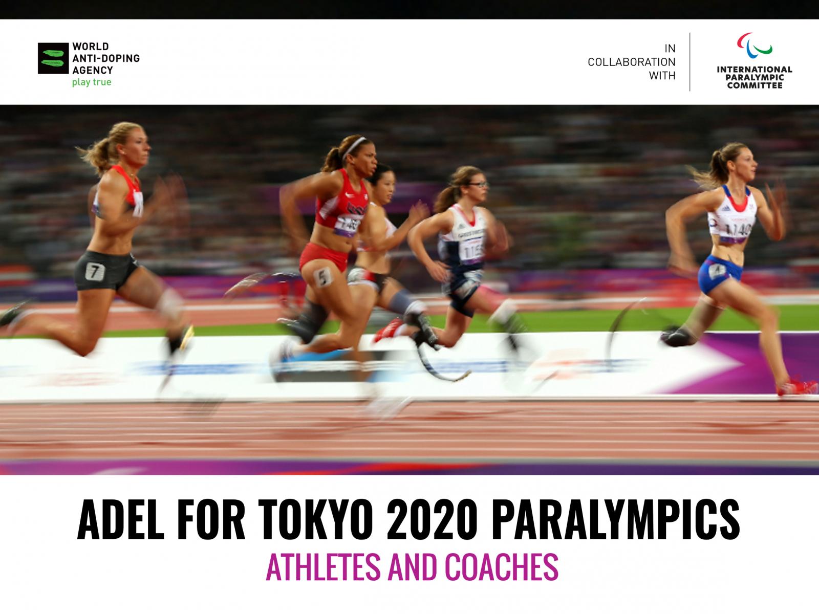 ВАДА совместно с МПК запускает новый онлайн-курс для спортсменов, тренеров и сопровождающего персонала спортсменов – кандидатов на участие в XVI Паралимпийских летних играх г. Токио (Япония)