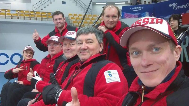 Сборная команда России по керлингу на колясках вышла в финал чемпионата мира
