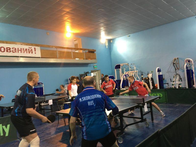 Спортсмены из Саратовской области одержали наибольшее количество побед в Кубке России по настольному теннису спорта лиц с ПОДА
