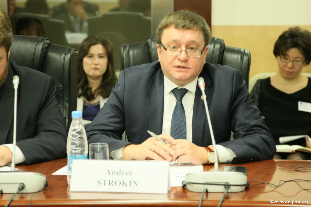 А.А. Строкин в МГИМО принял участие в мероприятии по запуску разработки нового учебного курса «Права и обязательства в спорте»